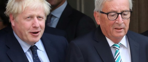 Juncker dell'UE, Johnson ha parlato della Brexit: Commissione europea